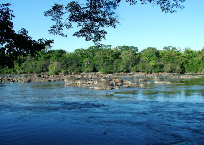 Rio Uraricoera in Roraima, Brasilien / Rio Uraricoera in Roraima, Brazil