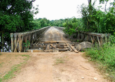 Brücke über den Coppename