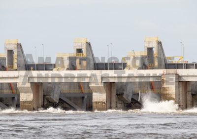Pimental Staudamm am Rio Xingu