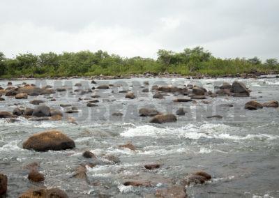 Stromschnellen in der Volta Grande