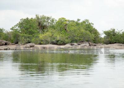 seichte Bucht am Rio Xingu