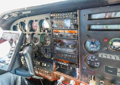 Cockpit der Maschinen