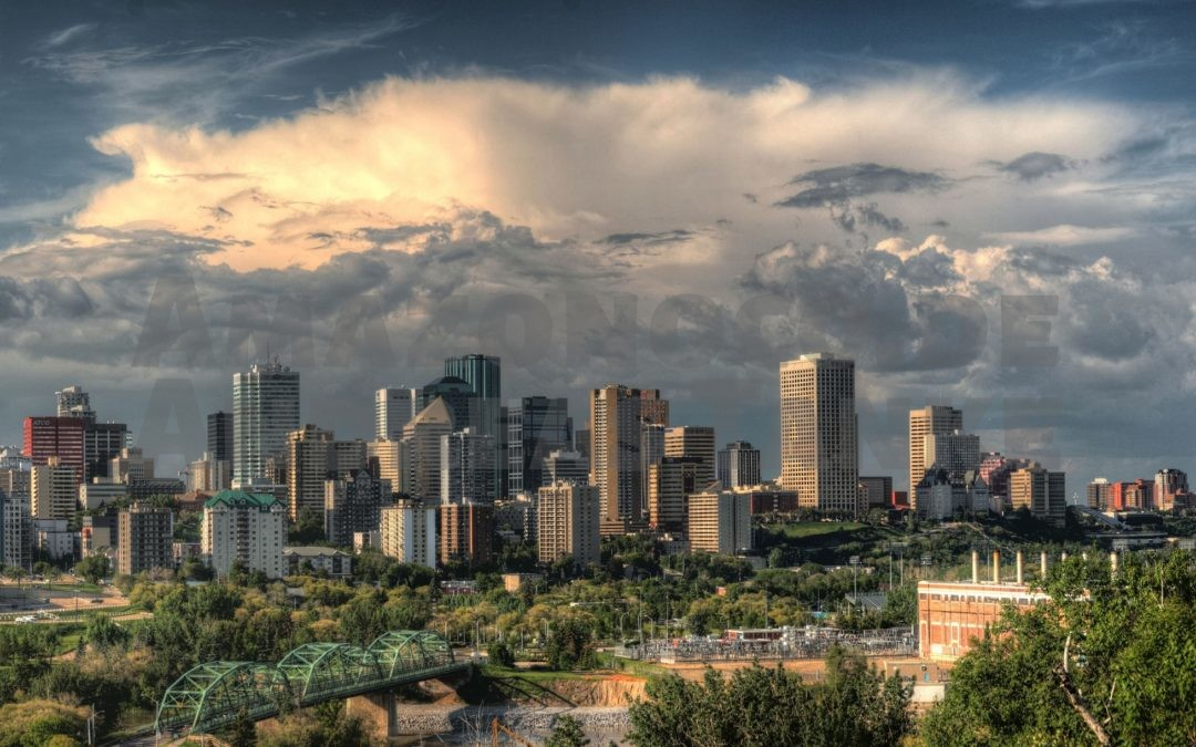 Skyline of Edmonton by Image by skeeze on Pixabay